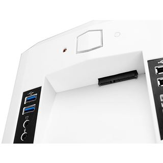 Raidmax Scorpio V mit Sichtfenster Midi Tower ohne Netzteil weiss