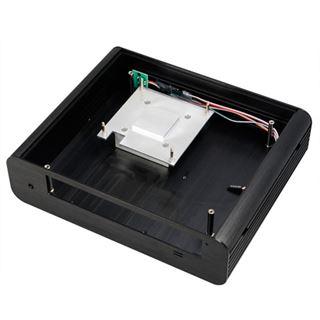 Akasa Euler Thin Mini-ITX ohne Netzteil schwarz