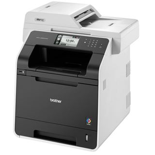 Brother MFC-L8850CDW Farblaser Drucken/Scannen/Kopieren/Faxen LAN/USB