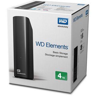 "4000GB WD Elements Desktop WDBWLG0040HBK-EESN 3.5"" (8.9cm) USB"