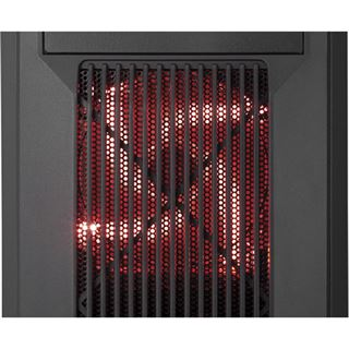 Corsair Carbide SPEC-02 LED rot mit Sichtfenster Midi Tower ohne