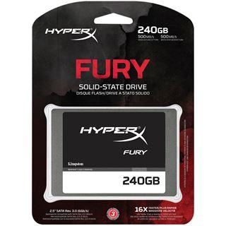 """240GB HyperX FURY 2.5"""" (6.4cm) SATA 6Gb/s MLC asynchron"""