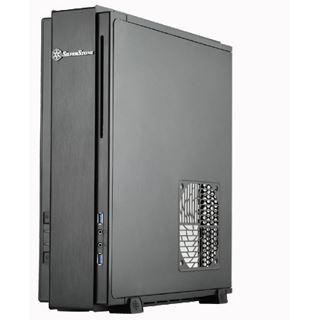 Silverstone Milo ML07 Desktop ohne Netzteil schwarz