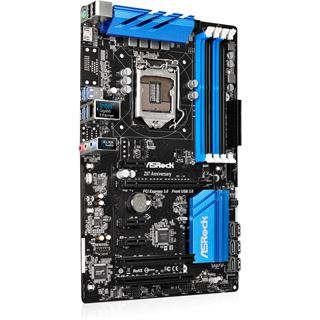 ASRock Z97 Anniversary Edition Intel Z97 So.1150 Dual Channel DDR3