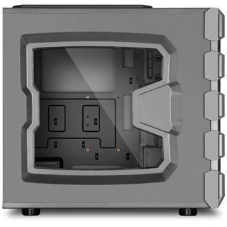 Sharkoon BD28 Gunmetal mit Sichtfenster Midi Tower ohne Netzteil