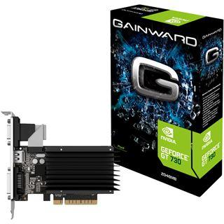 2GB Gainward GeForce GT 730 Silent FX Passiv PCIe 2.0 x 8 (Retail)