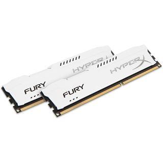 16GB HyperX FURY weiß DDR3-1333 DIMM CL9 Dual Kit