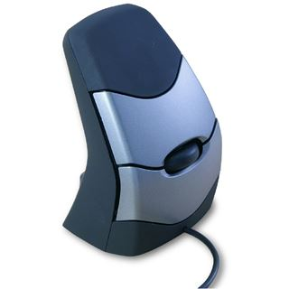BakkerElkhuizen DXT Precision USB schwarz/silber (kabelgebunden)