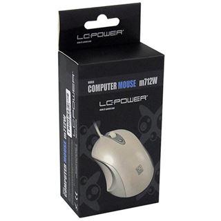 LC-Power m712W USB weiß (kabelgebunden)