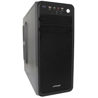 LC-Power Pro-927B Dark Purity Midi Tower 600 Watt schwarz