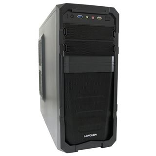 LC-Power Pro-928B Mechadroid Midi Tower 600 Watt schwarz