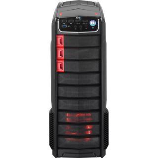 AeroCool GT-A mit Sichtfenster Midi Tower ohne Netzteil schwarz