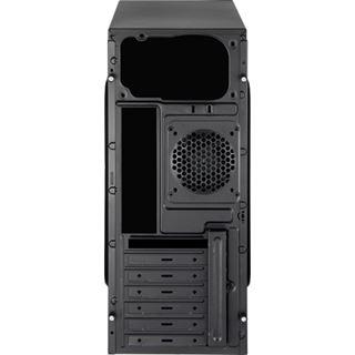AeroCool V2X Red Edition Midi Tower ohne Netzteil schwarz/rot