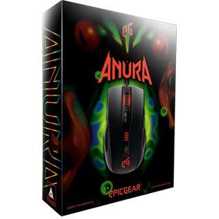 epicgear Anura HDST Ambidextrous USB schwarz/rot (kabelgebunden)