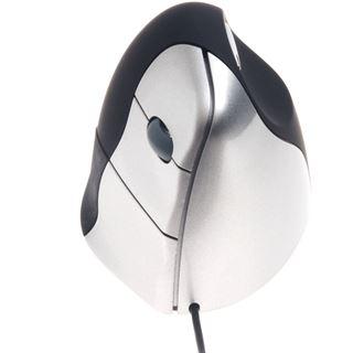 BakkerElkhuizen VerticalMouse 3 Rechts USB anthrazit/silber
