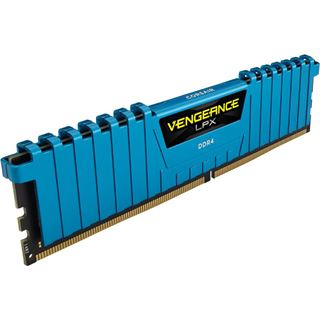 16GB Corsair Vengeance LPX blau DDR4-2800 DIMM CL16 Quad Kit