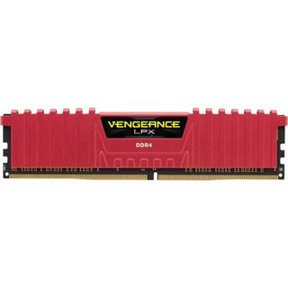 16GB Corsair Vengeance LPX rot DDR4-2800 DIMM CL16 Quad Kit