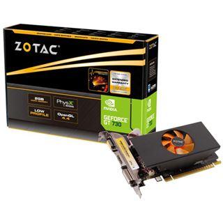 1GB ZOTAC GeForce GT 730 Passiv PCIe 2.0 x16 (Retail)