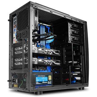 Raidmax Cobra Z Midi Tower ohne Netzteil schwarz/blau