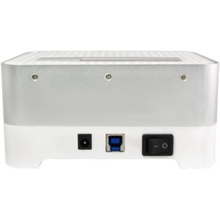 LogiLink Quickport HDD SATA weiß Dockingstation für