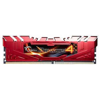 16GB G.Skill RipJaws 4 rot DDR4-3000 DIMM CL15 Quad Kit