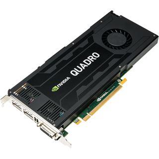 4GB PNY Quadro K4200 Aktiv PCIe 2.0 x16 (Bulk)