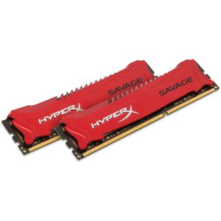 8GB HyperX Savage rot DDR3-1866 DIMM CL9 Dual Kit