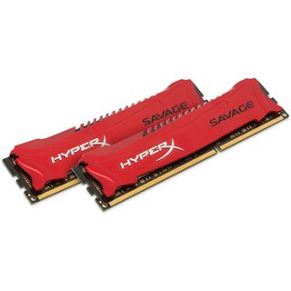 16GB HyperX Savage rot DDR3-2400 DIMM CL11 Dual Kit