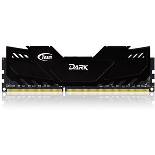 8GB TeamGroup Dark Series schwarz DDR3-2400 DIMM CL11 Dual Kit