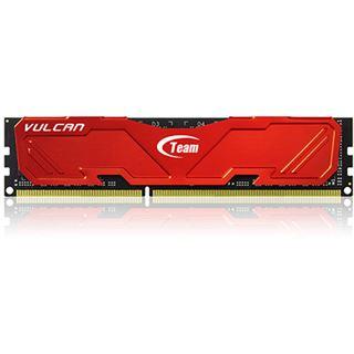 8GB TeamGroup Vulcan Series rot DDR3-2133 DIMM CL10 Dual Kit