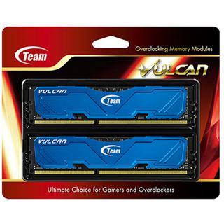 8GB TeamGroup Vulcan Series blau DDR3-2400 DIMM CL11 Dual Kit
