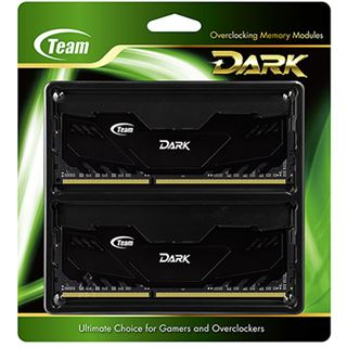 16GB TeamGroup Dark Series schwarz DDR3-2400 DIMM CL11 Dual Kit