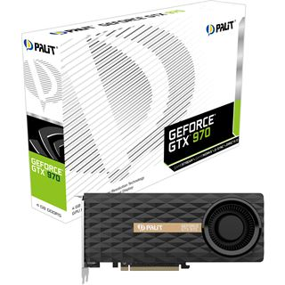 4GB Palit GeForce GTX 970 Aktiv PCIe 3.0 x16 (Retail)