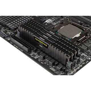 16GB Corsair Vengeance LPX schwarz DDR4-2666 DIMM CL16 Quad Kit