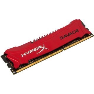 4GB HyperX Savage rot DDR3-1600 DIMM CL9 Single