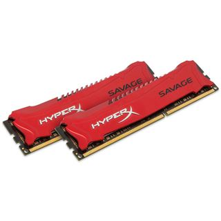 16GB HyperX Savage rot DDR3-1866 DIMM CL9 Dual Kit