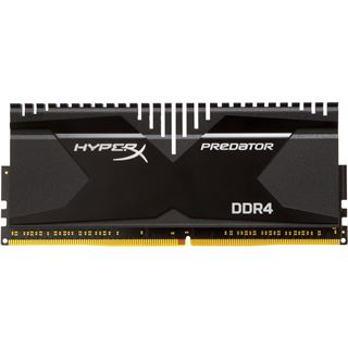 16GB HyperX Predator DDR4-2800 DIMM CL14 Quad Kit