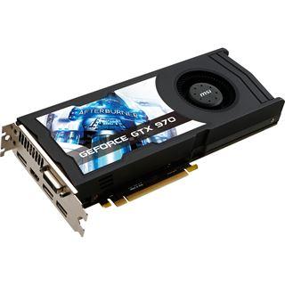 4GB MSI GeForce GTX 970 OC (Referenz Kühler) Aktiv PCIe 3.0 x16