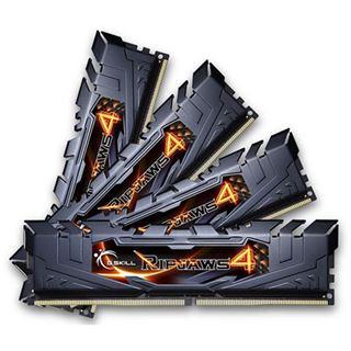 16GB G.Skill RipJaws 4 schwarz DDR4-2800 DIMM CL16 Quad Kit