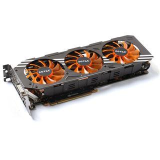 4GB ZOTAC GeForce GTX 980 AMP! Edition Aktiv PCIe 3.0 x16 (Retail)