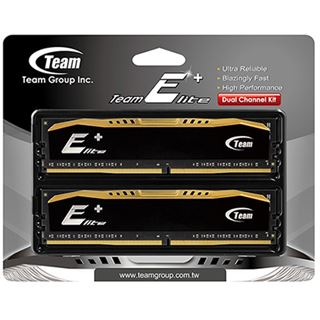 16GB TeamGroup Elite Plus Series schwarz DDR4-2400 DIMM CL16 Dual Kit