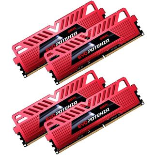 32GB GeIL EVO Potenza DDR4-2400 DIMM CL15 Quad Kit