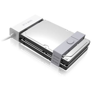RaidSonic Icy Box IB-AC622-U3 weiß Adapterkabel für 2x