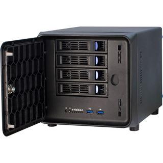Inter-Tech IPC SC-4100 Wuerfel ohne Netzteil schwarz