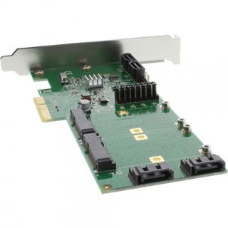 InLine 76617B 4 Port PCIe 2.0 x4 Low Profile retail