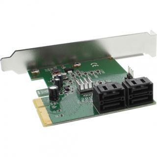 InLine 76617D 4 Port PCIe x4 Low Profile retail