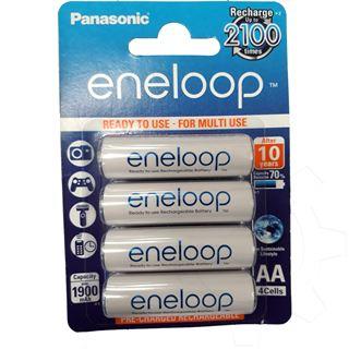 Panasonic eneloop HR6 Nickel-Metall-Hydrid AA Mignon Akku 1900 mAh