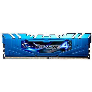 16GB G.Skill RipJaws 4 blau DDR4-2666 DIMM CL16 Quad Kit