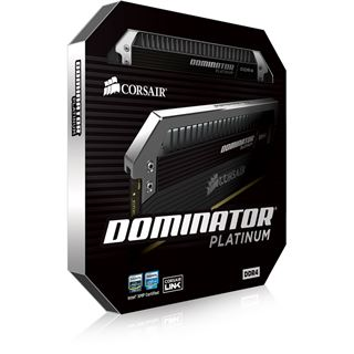64GB Corsair Dominator Platinum schwarz DDR4-2400 DIMM CL14 Octa Kit