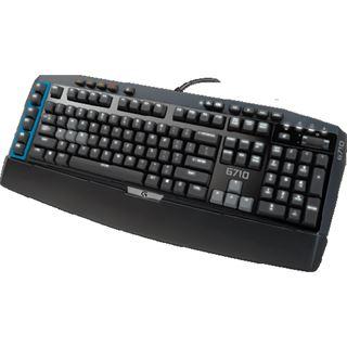 Logitech G710 MX-Blue CHERRY MX Blue USB Deutsch schwarz